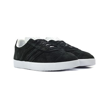 adidas Originals - Gazelle Stitch And - Leren gympen - zwart