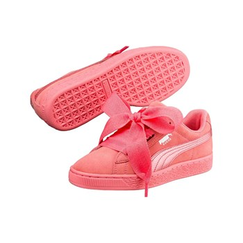 Puma - Heart - Baskets en cuir - rose