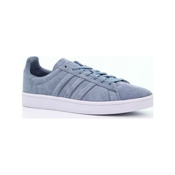adidas Originals - Campus Stitch and T - Baskets en cuir - bleu