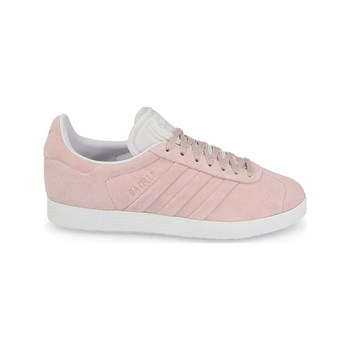 adidas Originals - Gazelle Stitch and Turn - Baskets en cuir - rose clair