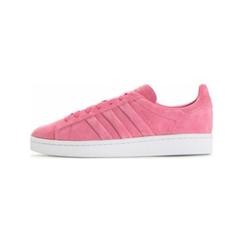 adidas Originals - Campus Stitch and T - Baskets en cuir - rose