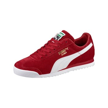 Puma - Roma - Sneakers in pelle - rosso