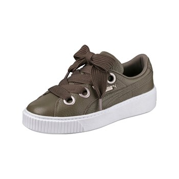 Puma - Kiss - Baskets en cuir - marron