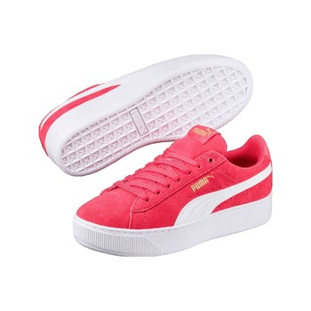 Puma - Vikky - Baskets en cuir - rose