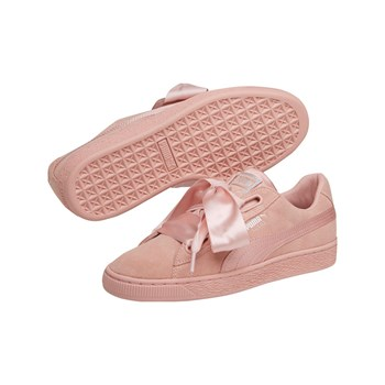 Puma - Heart Suede - Baskets en cuir - rose