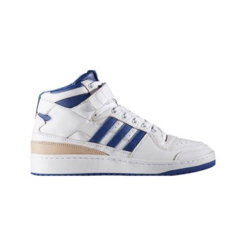 adidas Originals - Forum Mid - Zapatillas de cuero - blanco