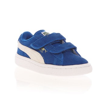 Puma - Suede Jr - Baskets Mode - en cuir suédé