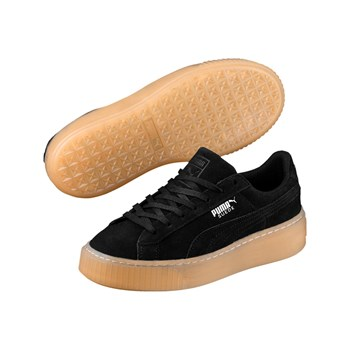 Puma - Jewel - Baskets en cuir - noir