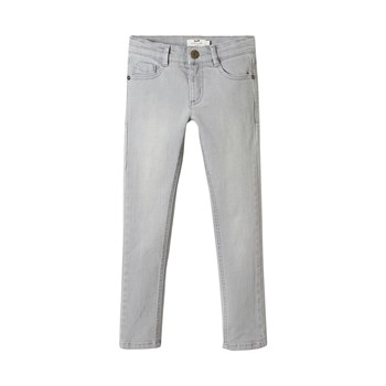 Cyrillus - Slim en denim - gris