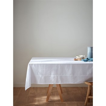 Cyrillus - Nappe en broderie anglaise - blanc