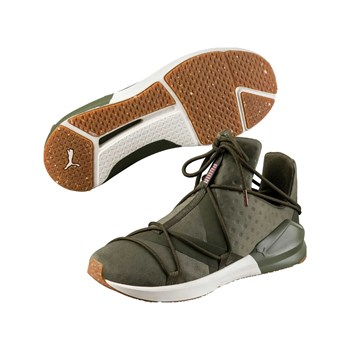 Puma - Fierce - Baskets Running - olive