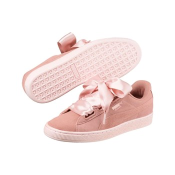 Puma - Suede Heart Pebble - Baskets en cuir - rose
