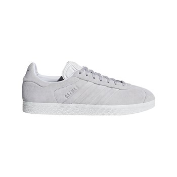 adidas Originals - Gazelle Stitch And Turn - Sneakers in pelle - grigio chiaro