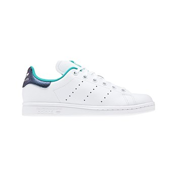 adidas Originals - Stan Smith J - Zapatillas de cuero - blanco