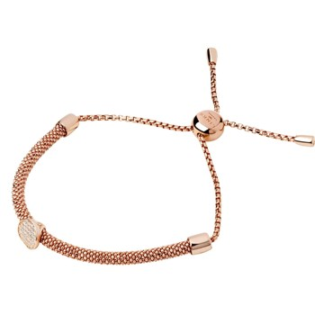 Links of London - Bracelet en or et en argent - rose