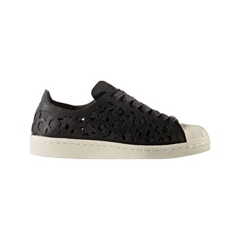 adidas Originals - Superstar 80s Cut Out - Zapatillas de cuero - negro