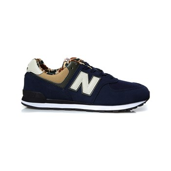 New Balance - Ledersneakers - blau