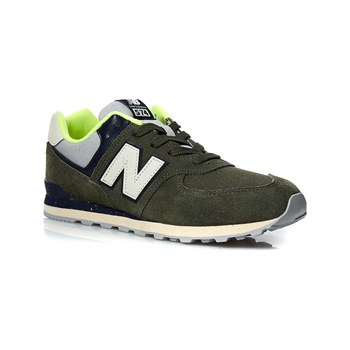 New Balance - Sneakers in pelle - verde scuro