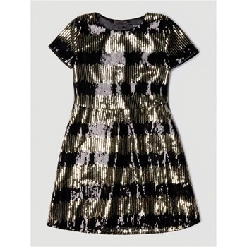 Guess Kids - Robe à paillettes - noir