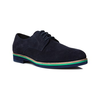 Abaco - Andy - Velourslederderbies - marineblau