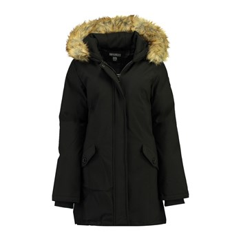 Geographical Norway - Dinasty 001 - Parka avec capuche imitation fourrure - noir