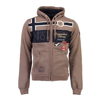 Geographical Norway - GARADOCK - Sweat à capuche - taupe