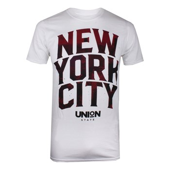 Union state - T-shirt manches courtes - blanc