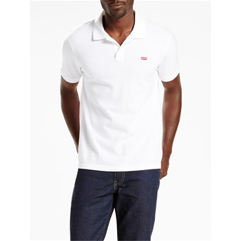Levi's - Levis Housemark - Polo manches courtes - bianco