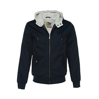 Harrington - Sinatra Hooded - Blouson - bleu marine