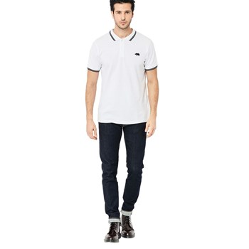 Harrington - Polo manches courtes - blanc