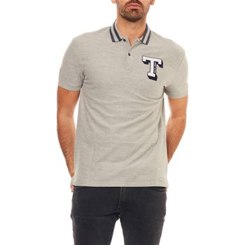 Tommy Jeans - Polo manches courtes - gris