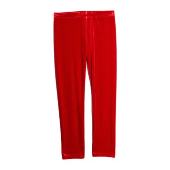 Benetton - Legging velours - rouge