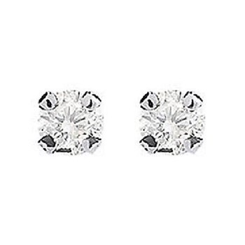 Diamond Design - Pendientes con diamantes
