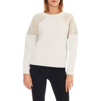 Benetton - Sweat-shirt - blanc cassé