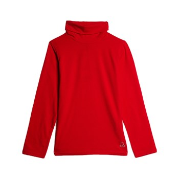 Sisley - T-shirt manches longues - rouge