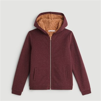 Monoprix Kids - Sweat à capuche - bordeaux
