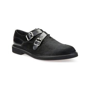 Geox - U Damocle D - Derbies en cuir - noir