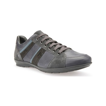 Geox - Uomo Symbol A - Sneakers in pelle - antracite