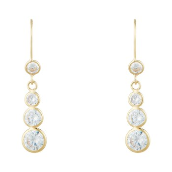 OR Bella - Brillance ultime - Pendientes colgantes - dorado