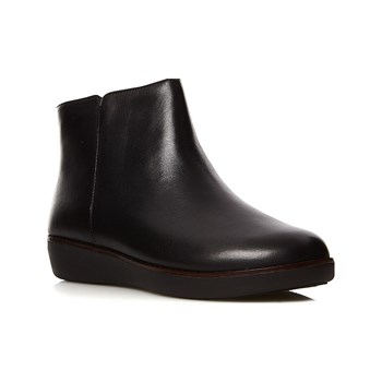 FitFlop - Ziggy - Bottines en cuir - noir