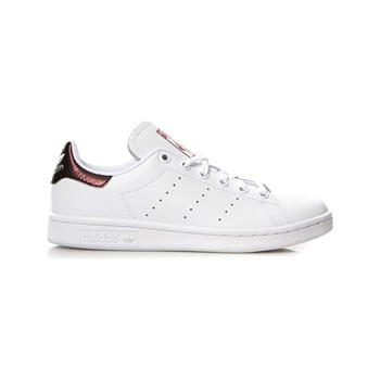 adidas Originals - Stan Smith J - Sneakers in pelle - bianco