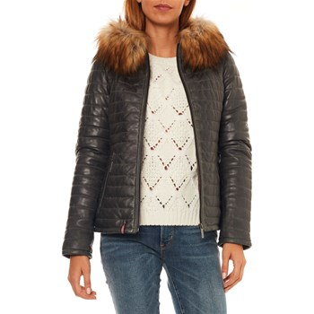 Oakwood - Fury - Blouson en cuir - bronze