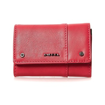 Diesel - Ladies Bolt - Monedero de cuero - rojo