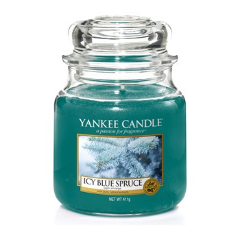 Yankee Candle - Sapin enneigé - Moyenne Jarre - vert