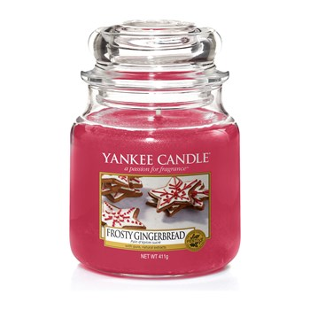 Yankee Candle - Pain d'épices sucré - Geurkaars - medium jar - rood