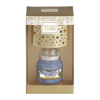 Yankee Candle - Collection Noël - Geurkaars - blauw