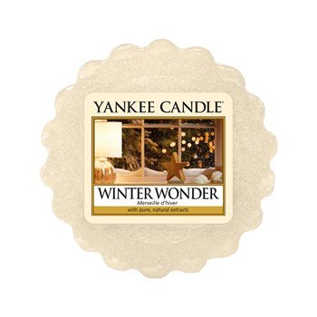 Yankee Candle - Merveille d'hiver - Tartelettes - blanc