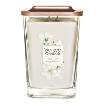 Yankee Candle - Linge  propre - Grote pot - wit