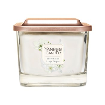 Yankee Candle - Linge  propre - Petite jarre - blanc