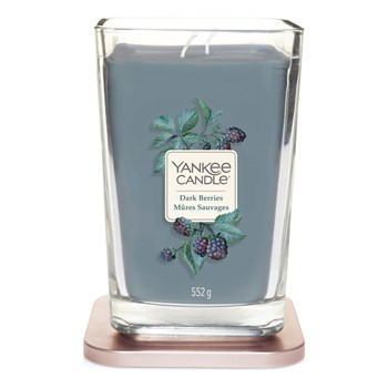 Yankee Candle - Mûres sauvages - Geurkaars - blauw